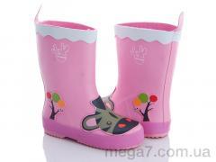 Резиновая обувь, Class Shoes оптом HMY4 розовый