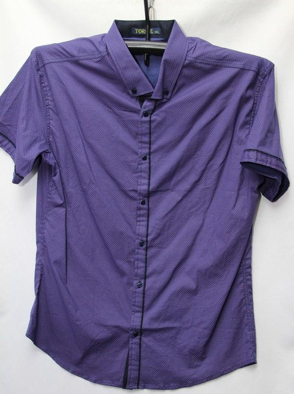 Рубашки мужские Турция оптом 2004523 3636-85