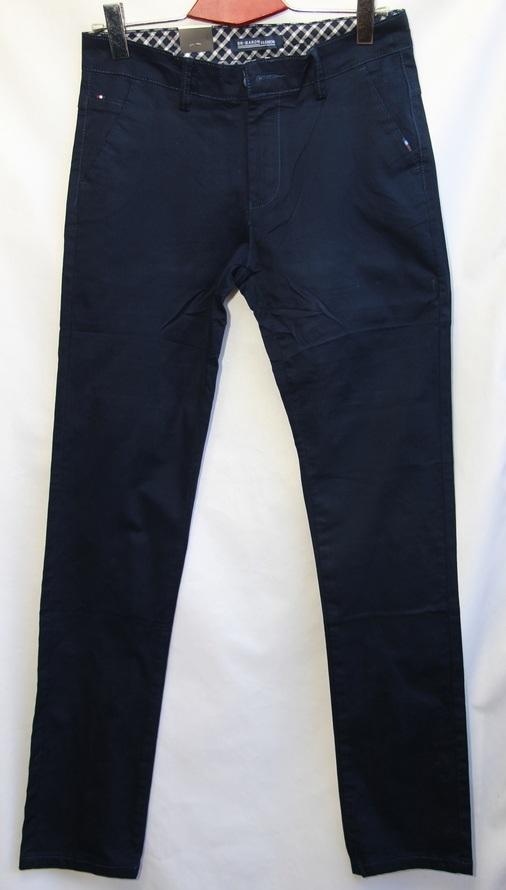 Брюки мужские темно синий оптом 19071818 6063