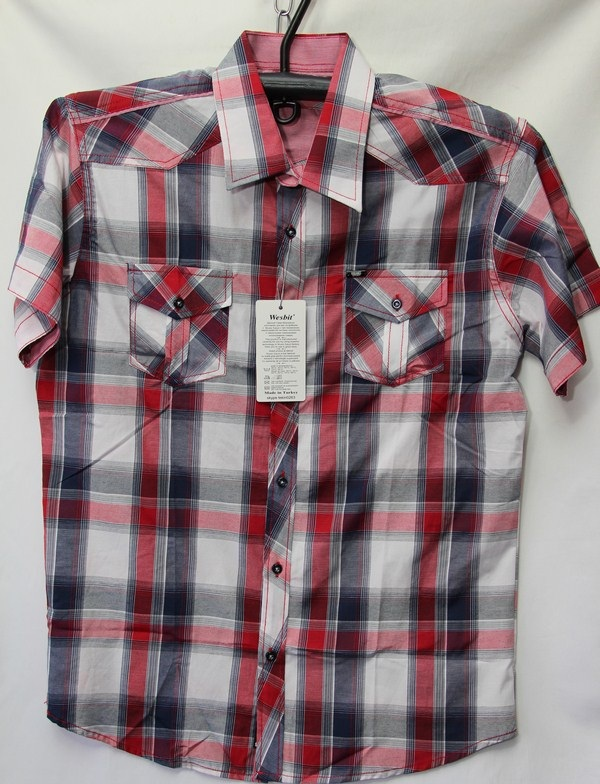 Рубашки мужские Турция оптом 2004523 3636-62