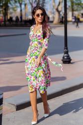 Платья женские БАТАЛ оптом 80751964  1093-5