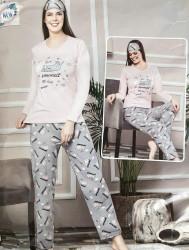 Ночные пижамы женские FANCY оптом 83495612 7226 -23