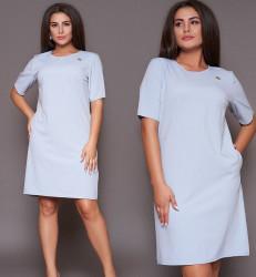 Платья женские БАТАЛ оптом 04815976   1135-3