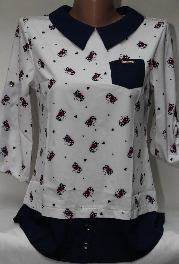 Блузы женские оптом 22043001 599-17