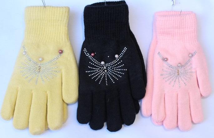 Перчатки женские оптом 05314782 C1626-1-2