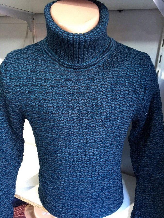 Мужские свитера с хомутом Турция оптом 24961035 001-4
