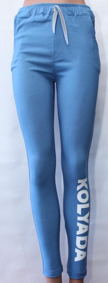 Спортивные штаны женские DESIGN BY KOLYADA оптом 96420173 435-1