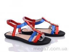 Босоножки, Summer shoes оптом A586 red