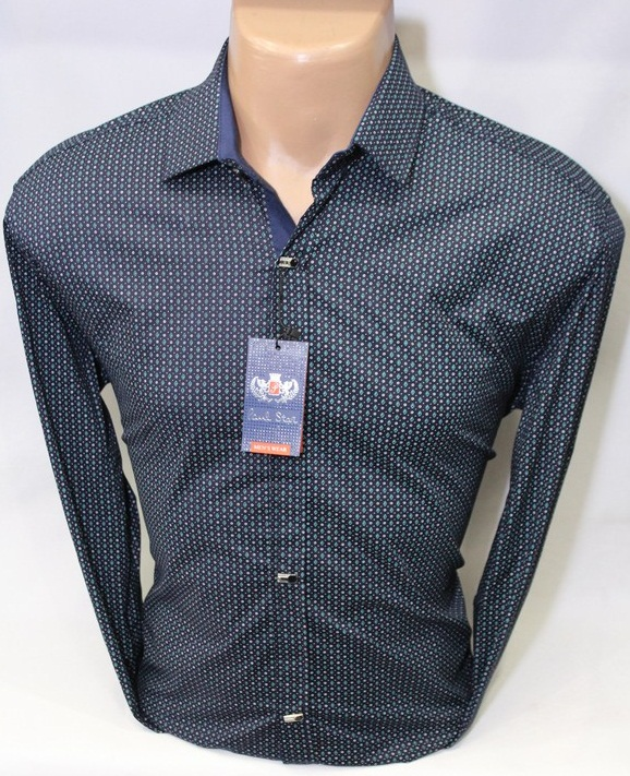 Рубашки PAUL STAR мужскиеТурция оптом 61380245
