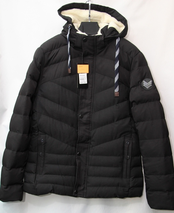 Куртки мужские AAL black оптом 56921783 626A-1
