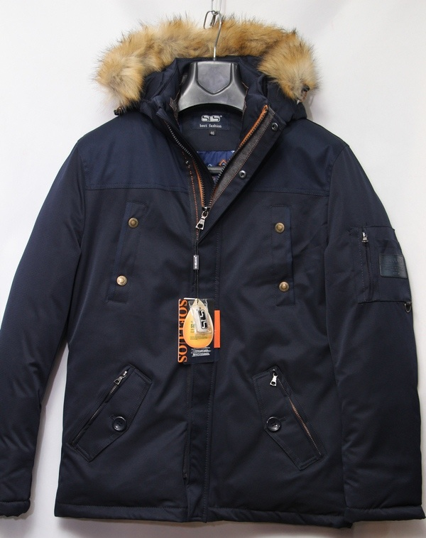 Куртка SOELUOS зимняя мужская оптом 36420871 HQ A-9330-1