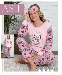 Ночные пижамы женские ASEL оптом 37820691 2791-3