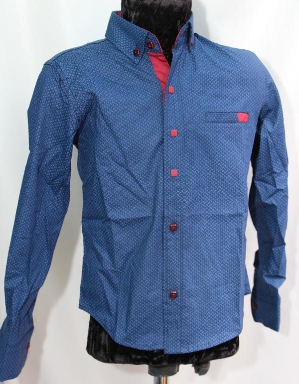 Рубашки подростковые  оптом 17071390 6445-162
