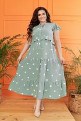 Платья женские БАТАЛ оптом 93562018  149-1