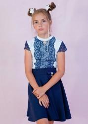 Блузки детские оптом 74395186 290-2