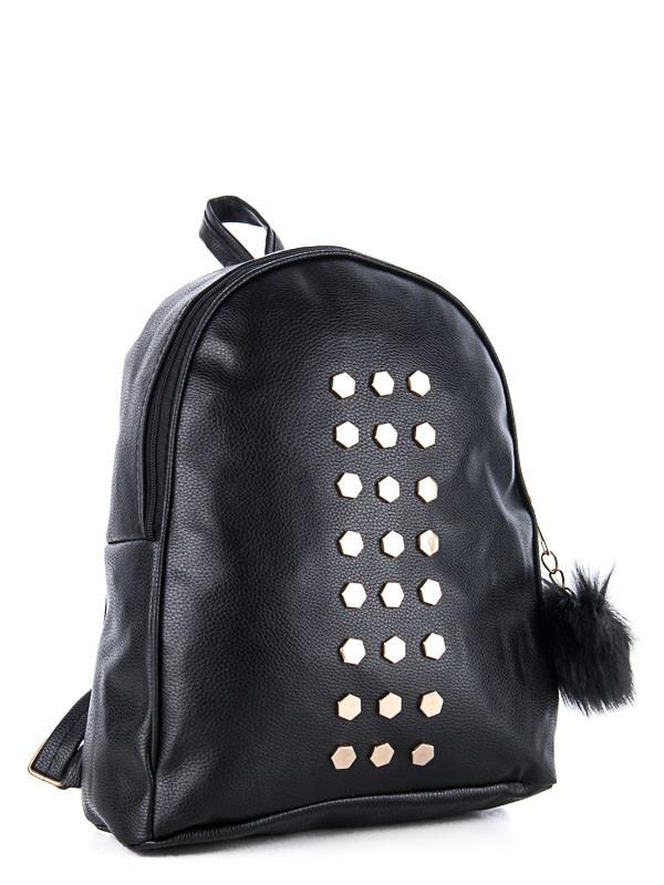 Рюкзаки женские DAVID POLO black оптом 17101605 31-1