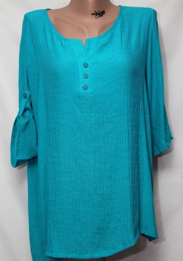 Блуза женская БАТАЛ оптом 18021410 233
