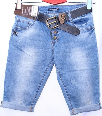 Капри женские джинсовые оптом 01736248 8930