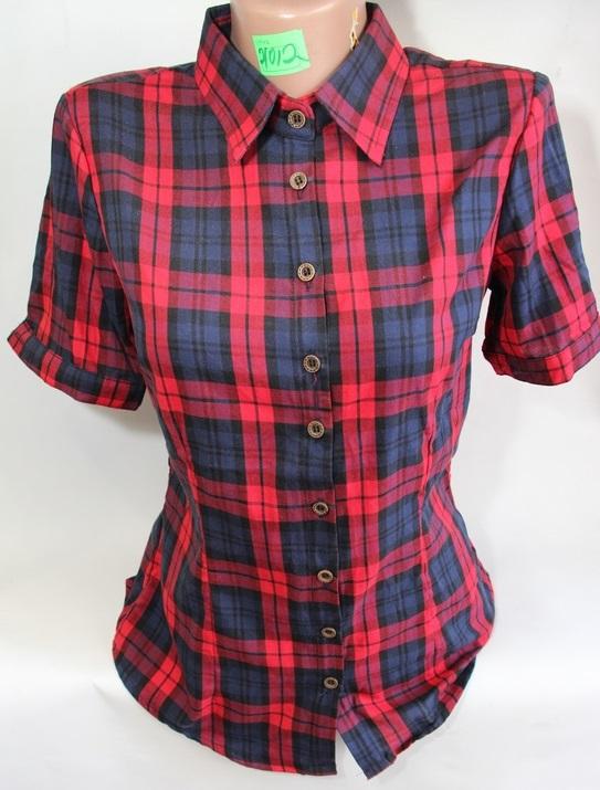 Рубашки женские QIANZHIDU Турция оптом 76532049 12010-1