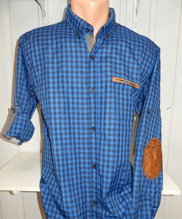 Рубашки мужские полу батал оптом 13081830 5210-5