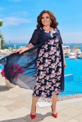 Платья женские БАТАЛ оптом 90741685  06-8