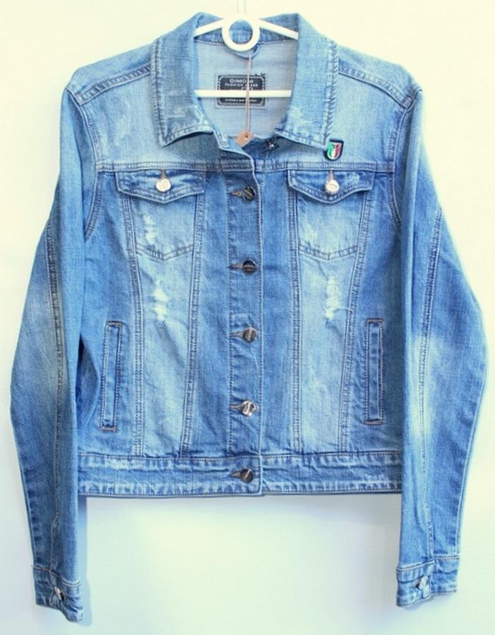 Куртки джинсовые женские DIMONI оптом 79350862 1096
