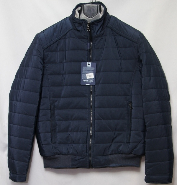 Куртка SOELUOS  зимняя мужская оптом 14094976 HQ 8089-B