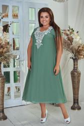 Платья женские БАТАЛ оптом 75824601 05-13