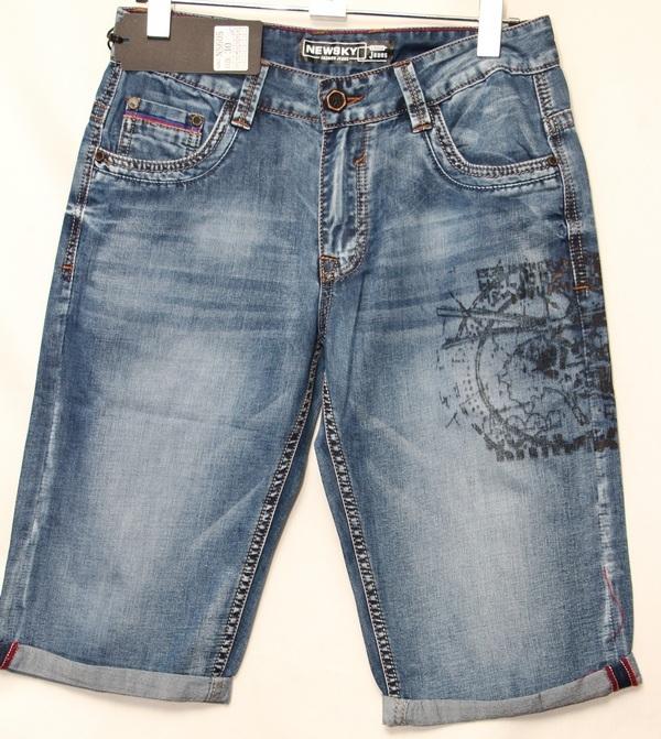 Шорты джинсовые мужские оптом 04071824 605