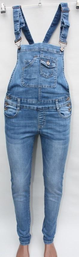 Комбинезоны джинсовые женские оптом 30819627 6278