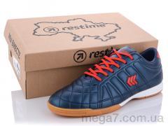 Футбольная обувь, Restime оптом DM020261 navy-red