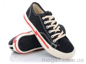 Кеды, Class Shoes оптом A918 черный