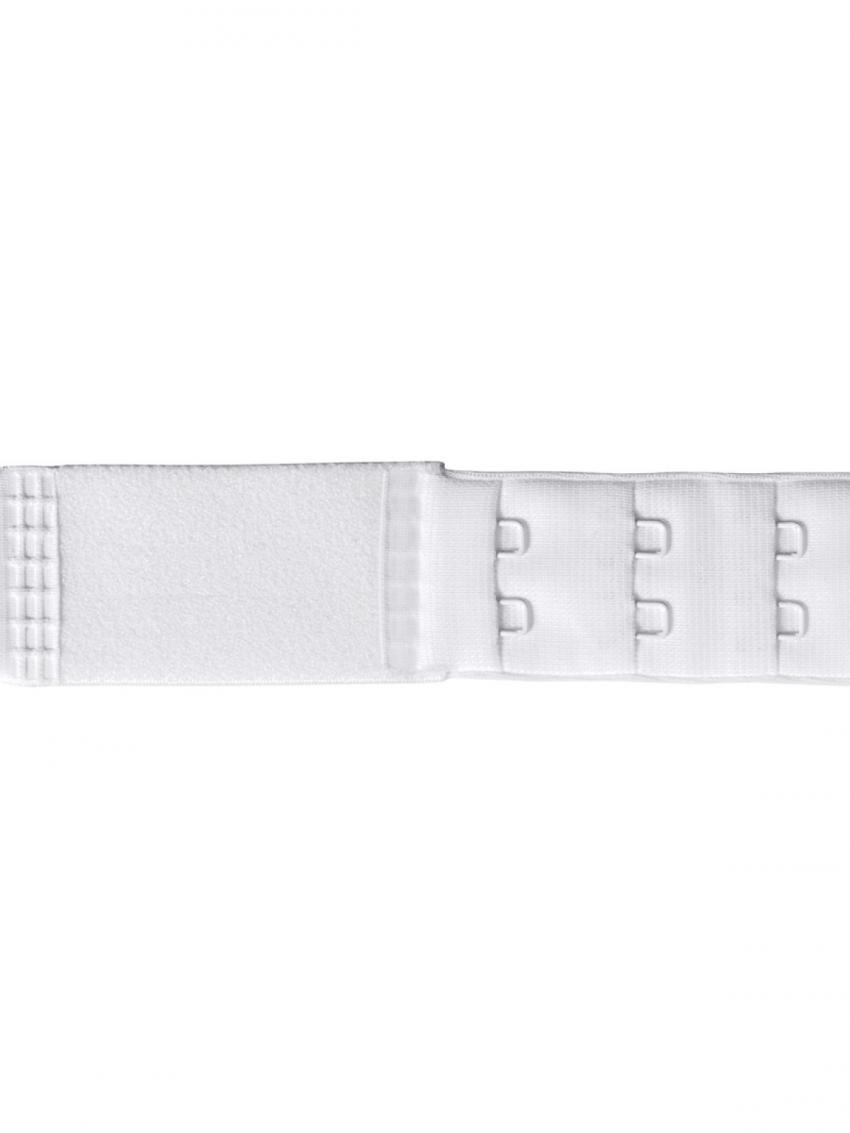 Застежка удлинитель для бюстгальтера на один крючок 01 (  белый  10 шт. )