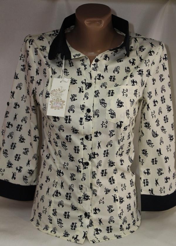 Рубашки женские оптом 05083030 76-1