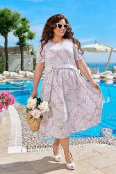 Платья женские БАТАЛ оптом 43062718 07-13