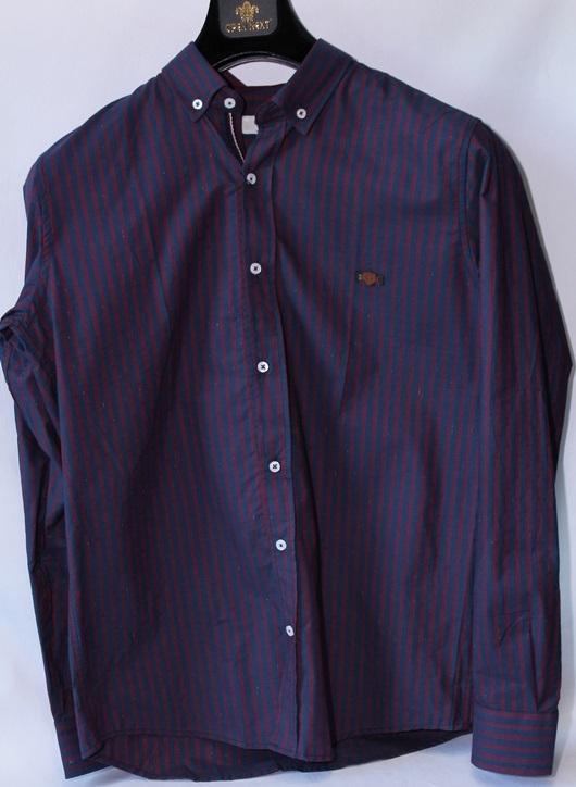 Рубашки мужские оптом 15104457 7639-6