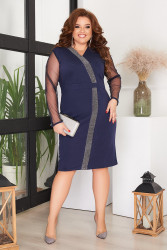 Платья женские БАТАЛ оптом 29346015 05-9