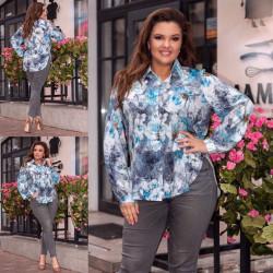 Рубашки женские оптом 34685072 655-16