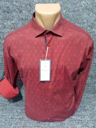 Рубашки мужские PLENTI БАТАЛ оптом 72195036    03-24