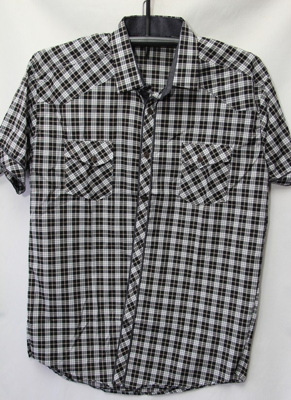 Рубашки мужские Турция оптом 2004523 3636-79