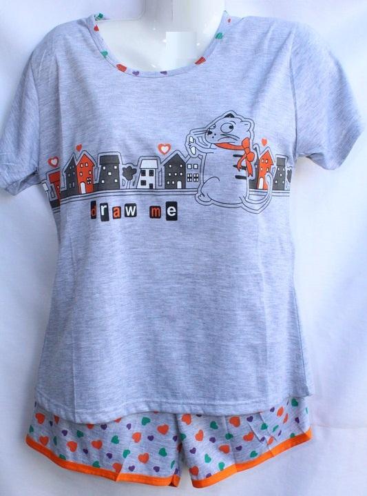 Ночные пижамы женские оптом 39156702 035-53