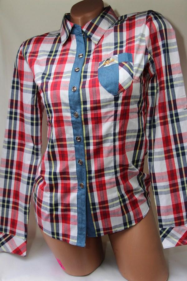 Рубашки женские оптом 1903807 50-4