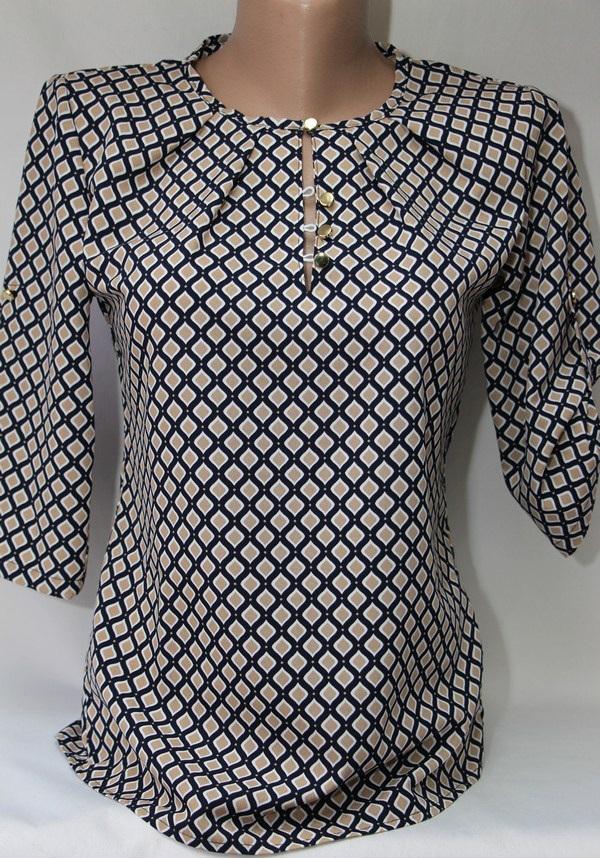 Блуза женская батал оптом  20033001 6099-51