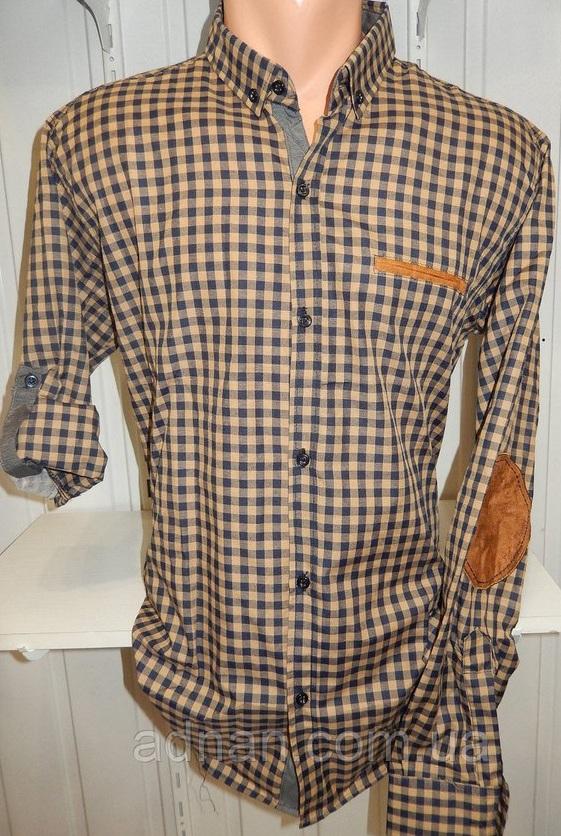 Рубашки мужские полу батал оптом 13081830 5210-6