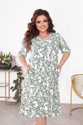 Платья женские БАТАЛ оптом 04152936 08-5