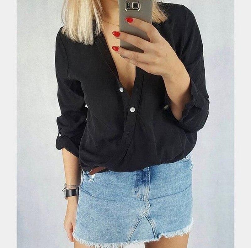 Рубашки женские оптом 97405268 0121-1