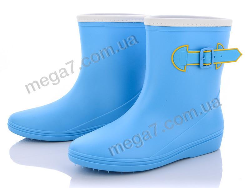Резиновая обувь, Class Shoes оптом R818 голубой