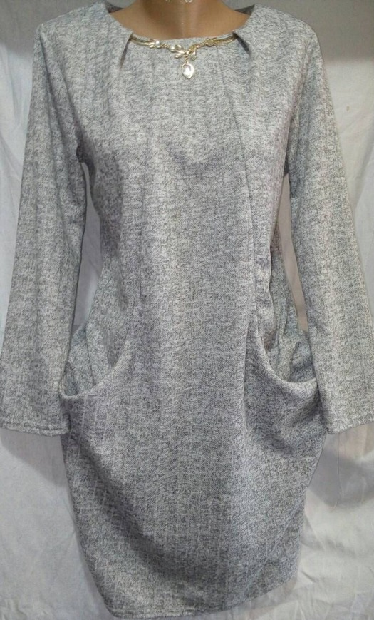 Платье женское ПОЛУБАТАЛ оптом 1909628 6728-12