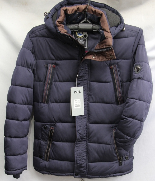 Куртки мужские ZPL зимние оптом 07364512 2102-21