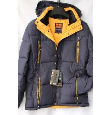 Куртка мужская зимняя оптом Китай 2909223 E06-2